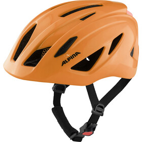 Alpina Pico Flash Helm Kinder neon orange gloss
